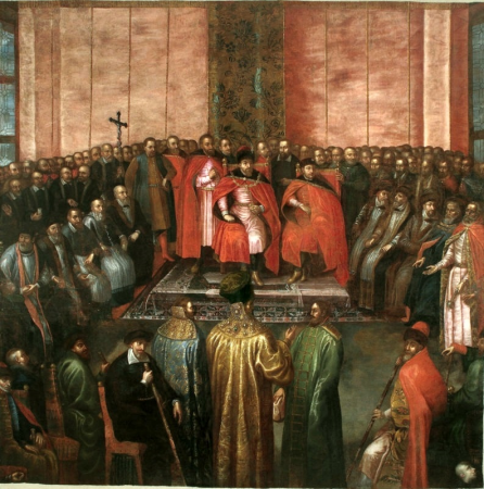 During the time of rokosz. The general sejm in Warsaw. 1607.
